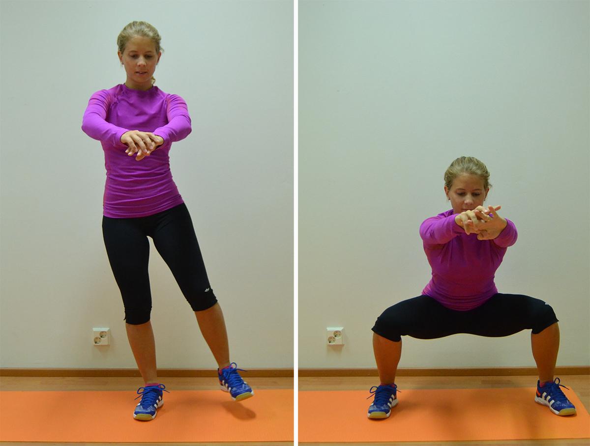 Bra övningar för innerlåren