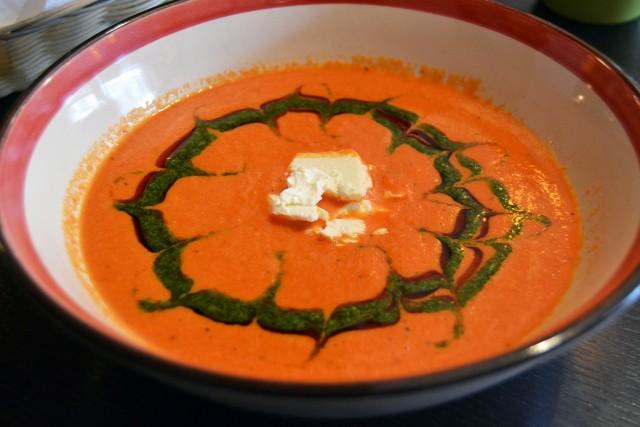 Tomatsoppa LCHF