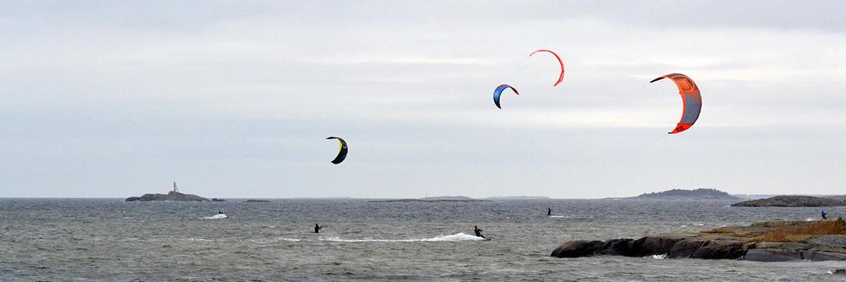 Träning, kitesurfing och systertid