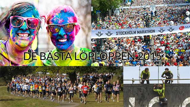 Löplopp 2015 i Sverige och Finland – årets roligaste lopp som du inte ska missa!