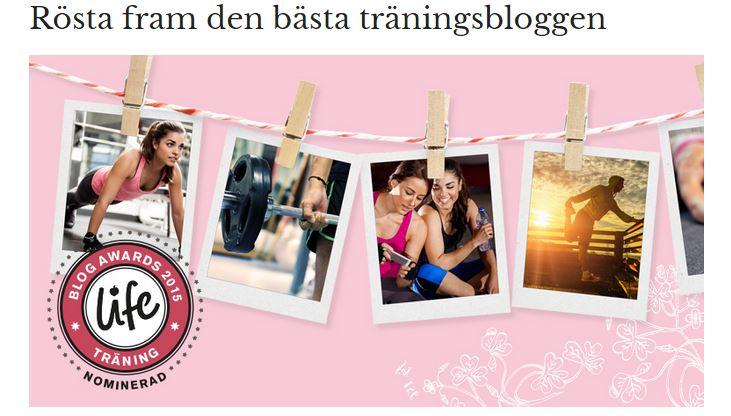 Nominerad i Life Blog Awards
