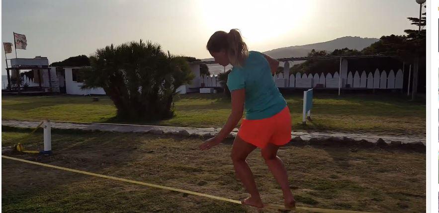 Gårdagens kroppsviktsträning utomhus (video)