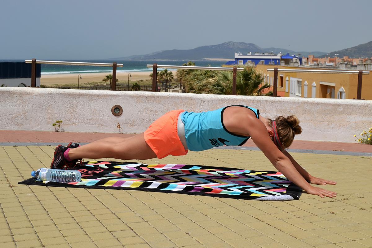 bålträning plankan