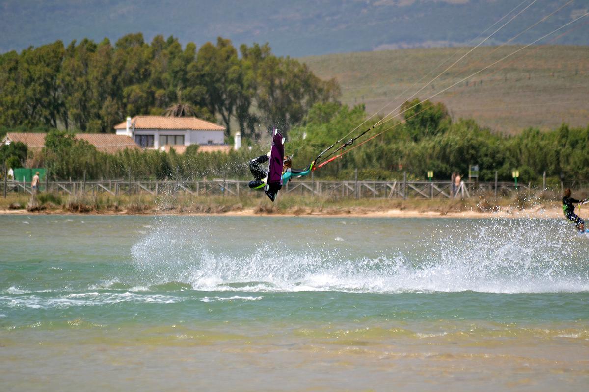 Kitesurfing lagun Tarifa