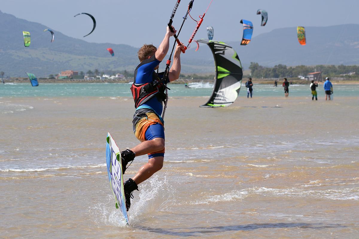 Kitesurfing lagoon Tarifa