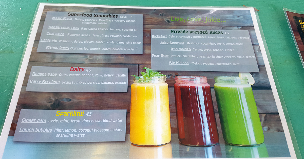 hälsosam juice