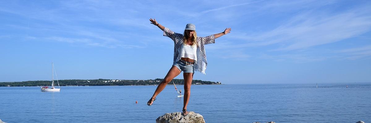 En härlig dag i Kroatien