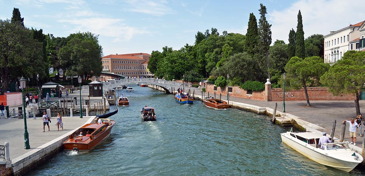 En solig eftermiddag i Venedig