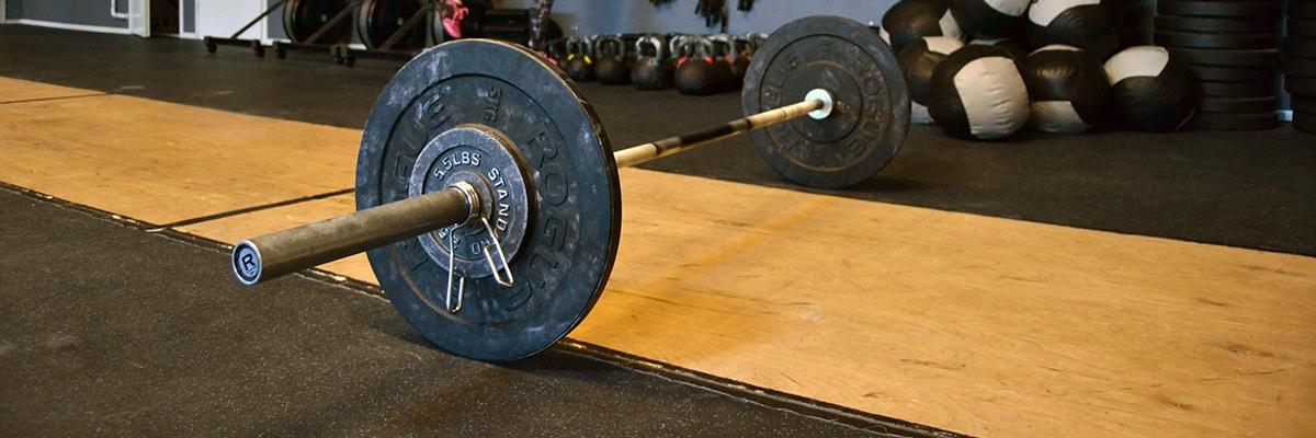Tillbaka till tunga vikter och rolig träning på CrossFit Jeppis