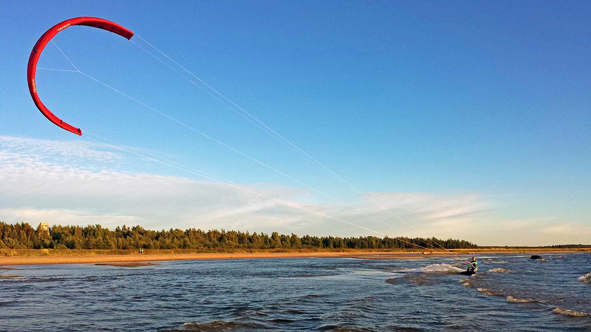 ohtakari kitesurfing