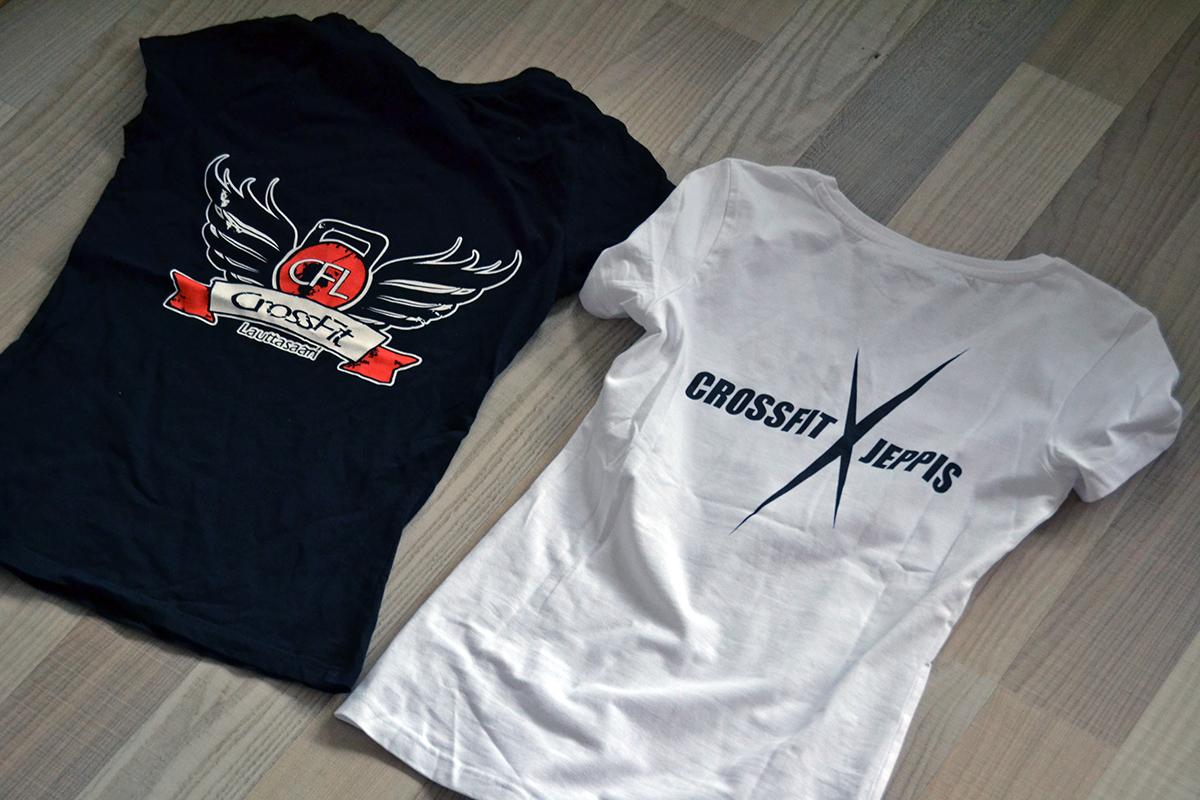 crossfit jeppis t-shirt