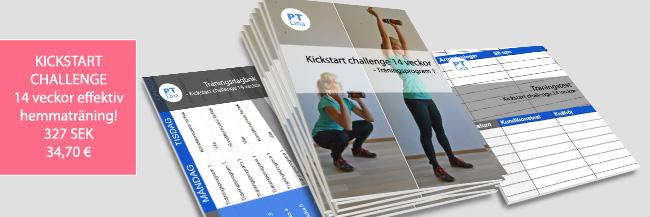 kickstart challenge hemmaträning takeover