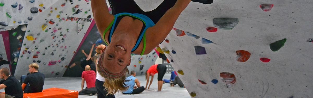 Bouldering som avbrott från den vanliga träningen