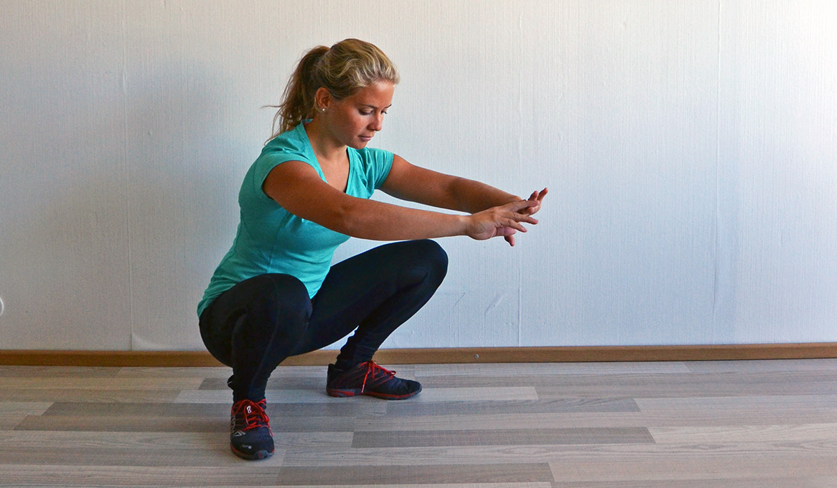 rörlighet för knäböj