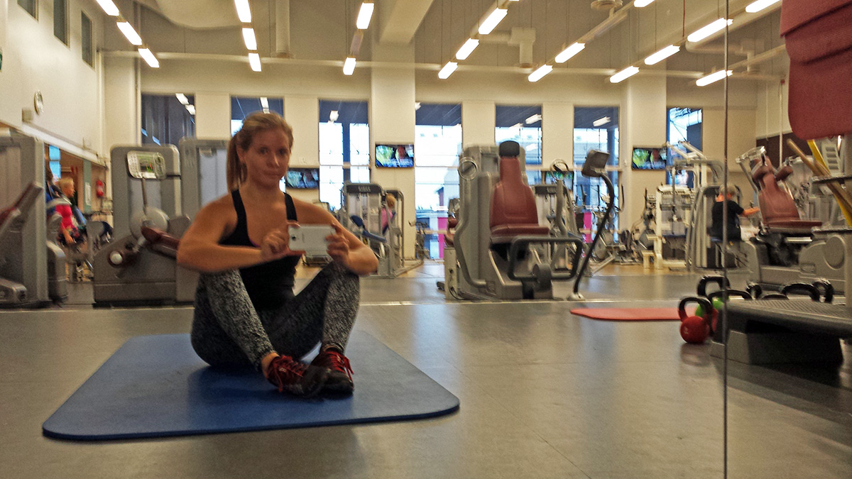 styrketräningsprogram på gymmet