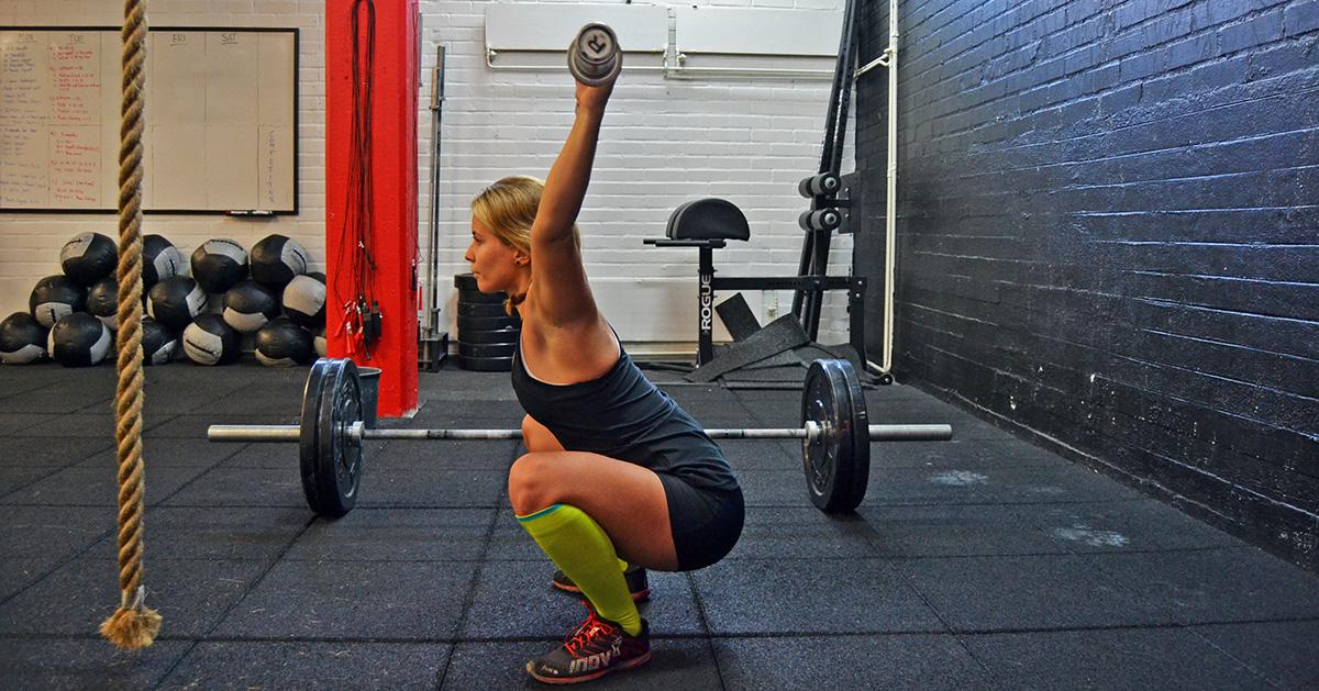 överrörlighet overhead squat