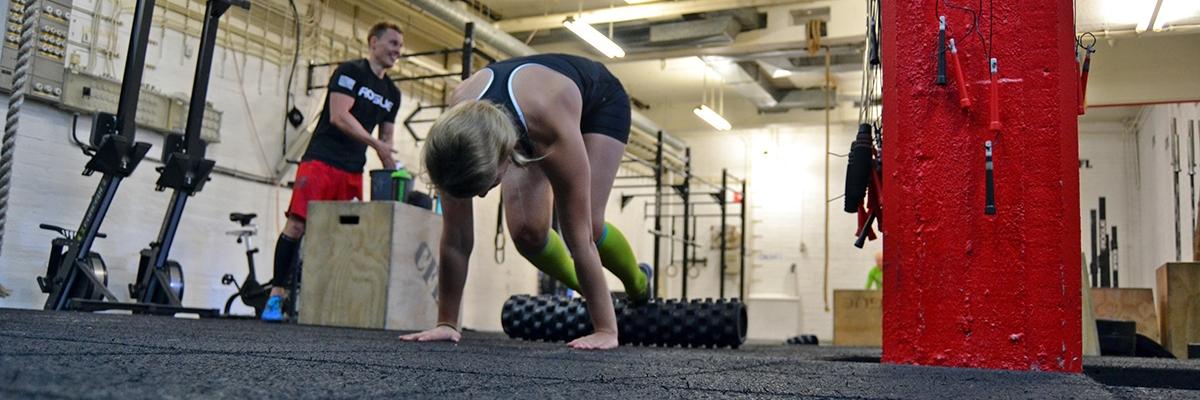 Rehab-träning, träningsvärk och en ny magfavorit