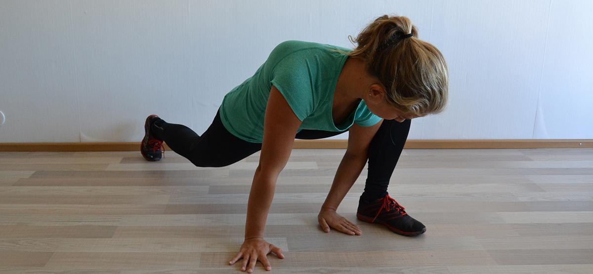 rörlighet i höft innan knäböj