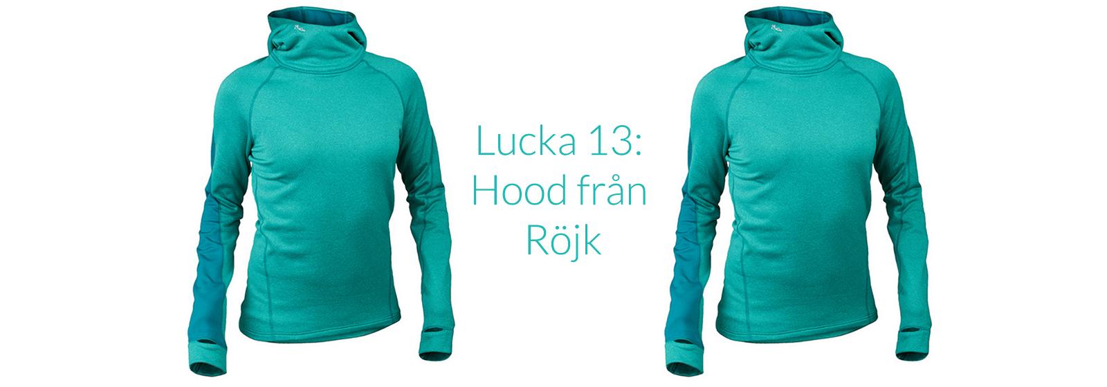 Lucka 13: Vinn hoodie från Röjk + vinnare i julkalendern