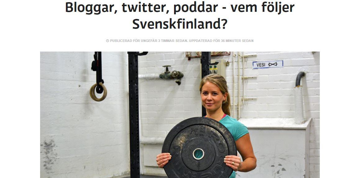 Vem följer Svenskfinland – Tevedebut ikväll för lilla mig!