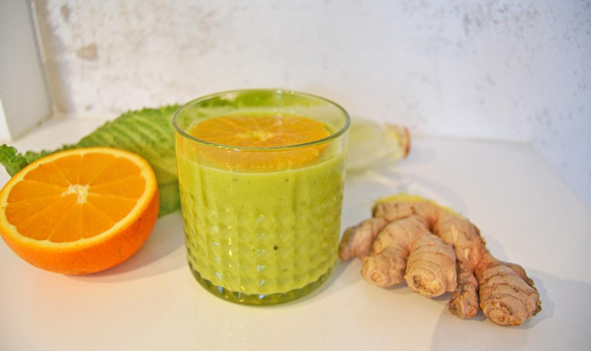 grön smoothie immunförsvar