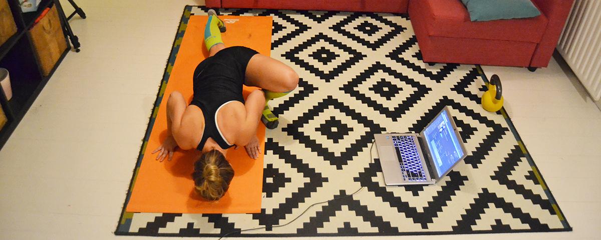 Ny träningsförälskelse för smidighet och styrka