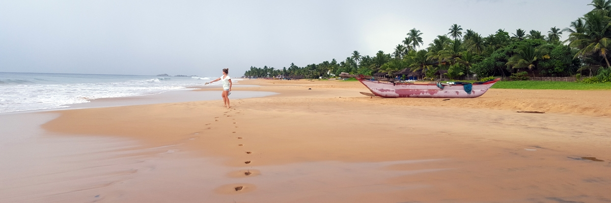 Från Kalpitiya till Negombo till Hikkaduwa