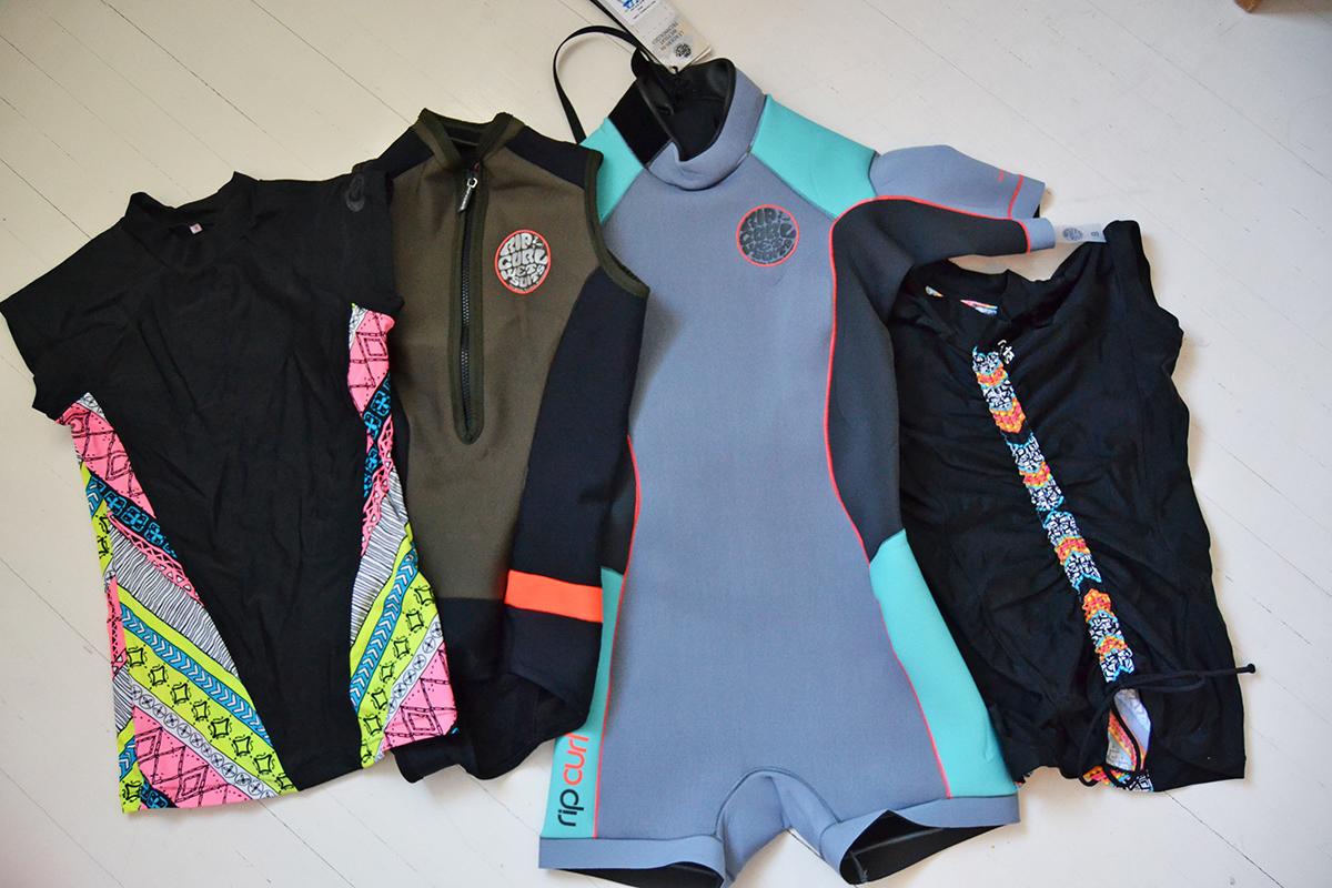 bikinis kitesurfing rip curl
