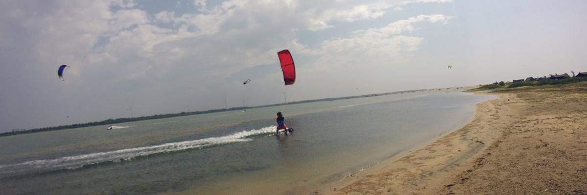 Kitecentret Sri Lanka Kite i Kalpitiya
