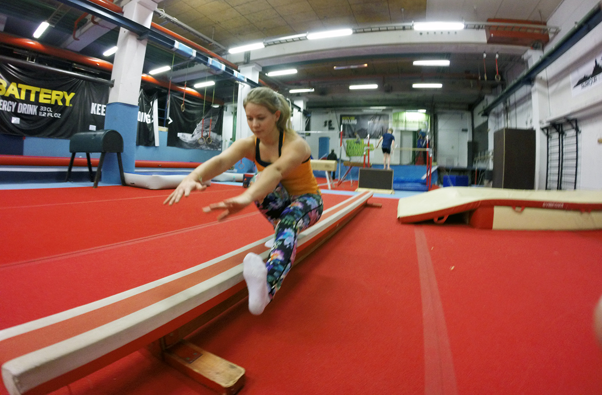 Taitoliikuntakeskus träning