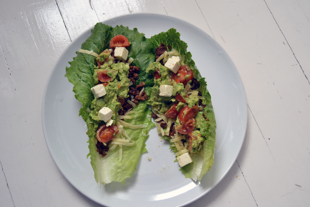 LCHF-tacos