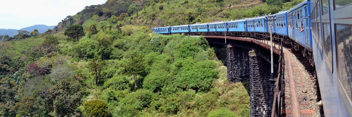 Världens vackraste tågresa – Med tåg genom Sri Lanka