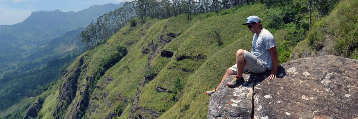 Vandring upp till Ella Rock på Sri Lanka