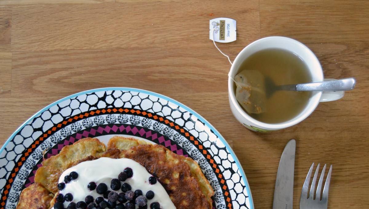 Te med ingefära, citron och honung