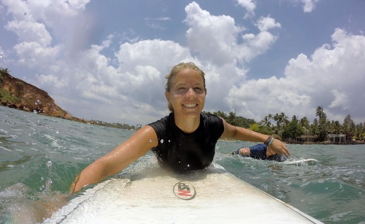 surfing kontaktlinser