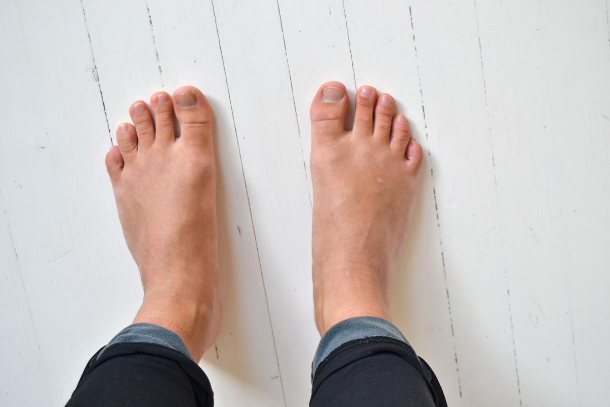 hälsosamma fötter