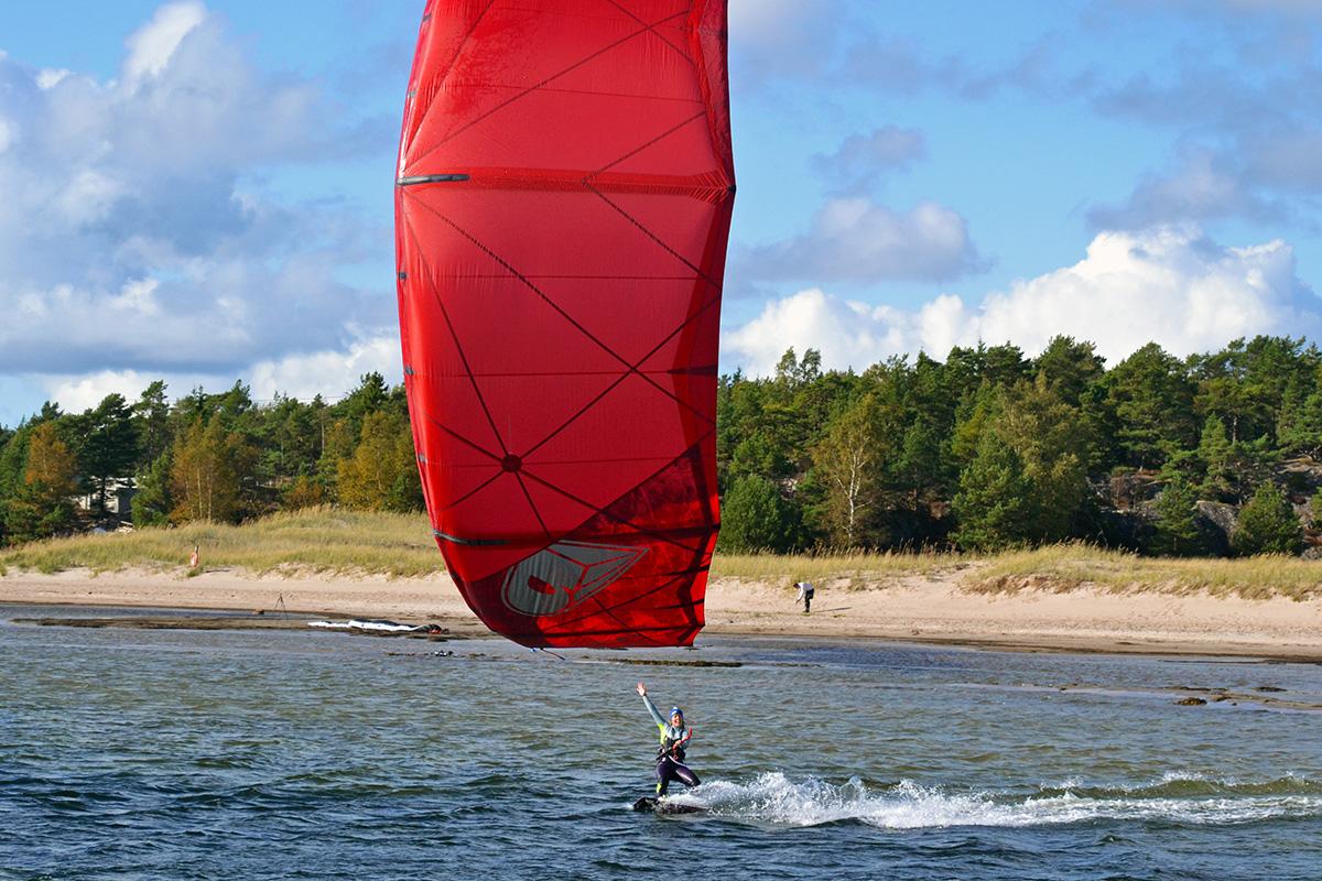 kitesurfing träningsform