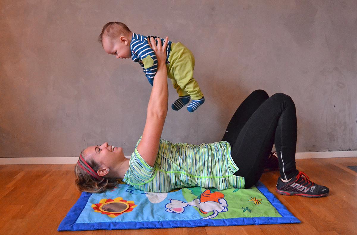 träning för nyblivna mammor