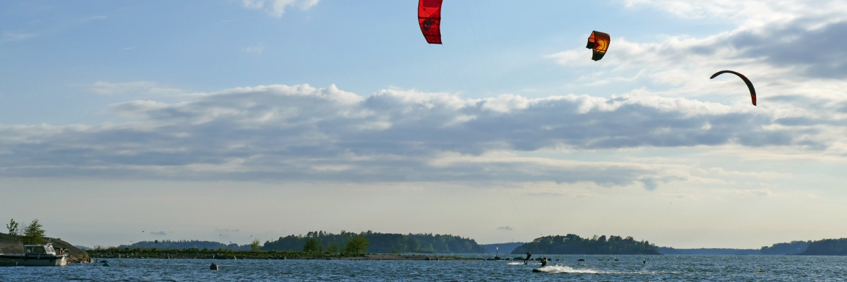 15 minuter kitesurfing