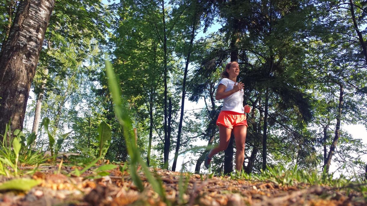 löpning markperspektiv
