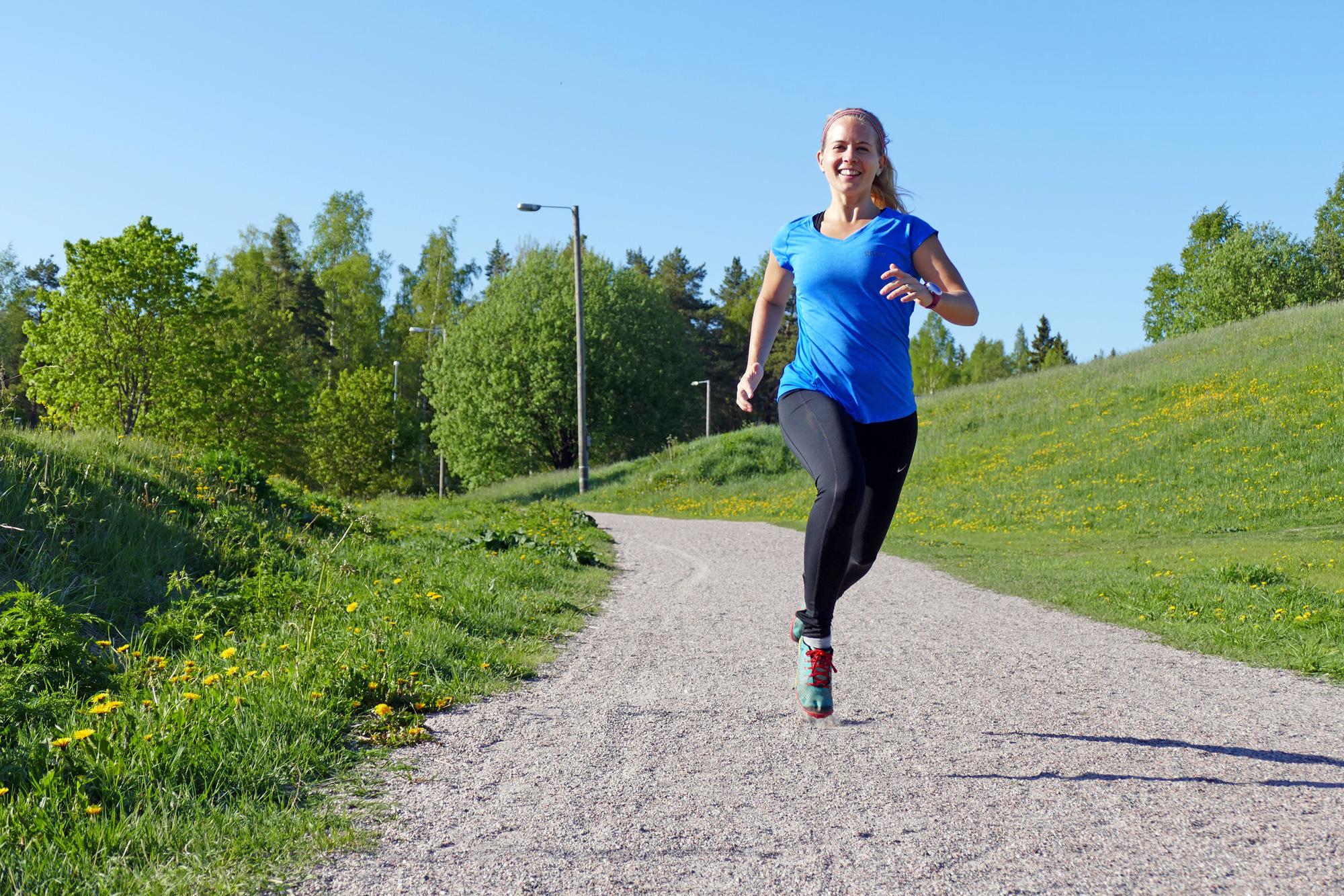löpning efter graviditet förlossning