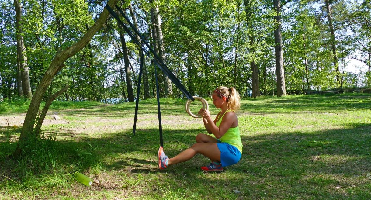 träning med romerska ringar