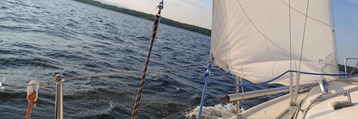 Älska segling! Från Enköping till Vaxholm