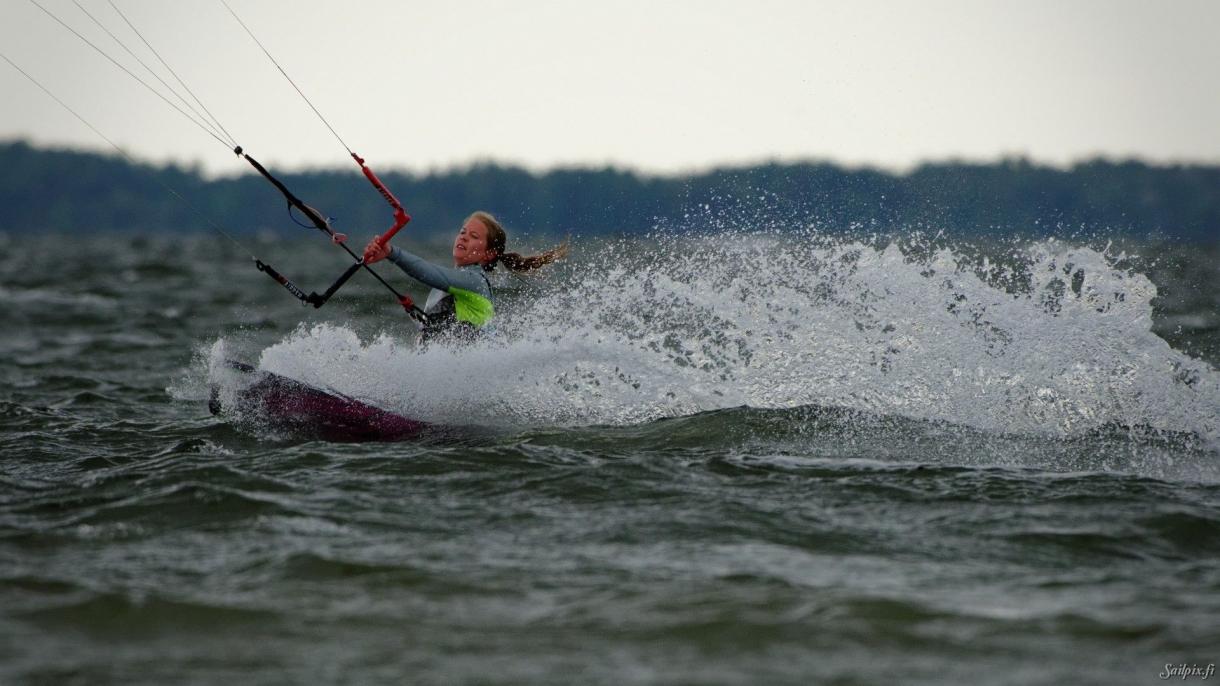 Kitesurfing silversand