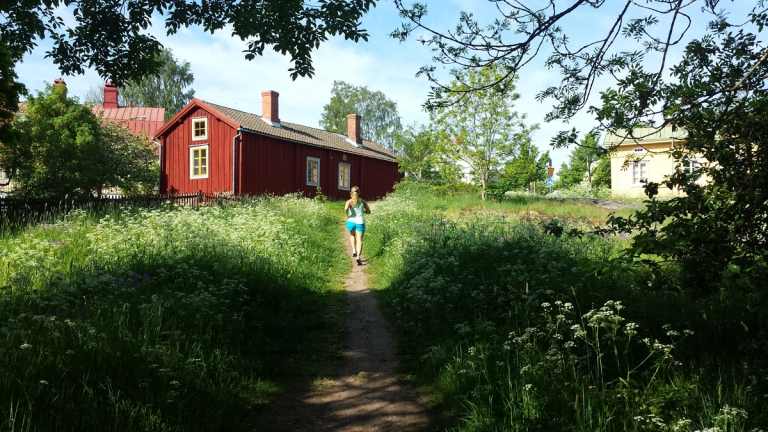 Löpning i Mariehamn – och vidare till Sottunga