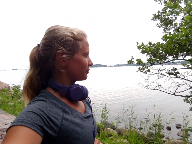 Midsommarlöpning och gott på grillen