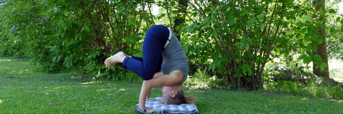 Veckans utmaning: Lär dig stå på huvudet