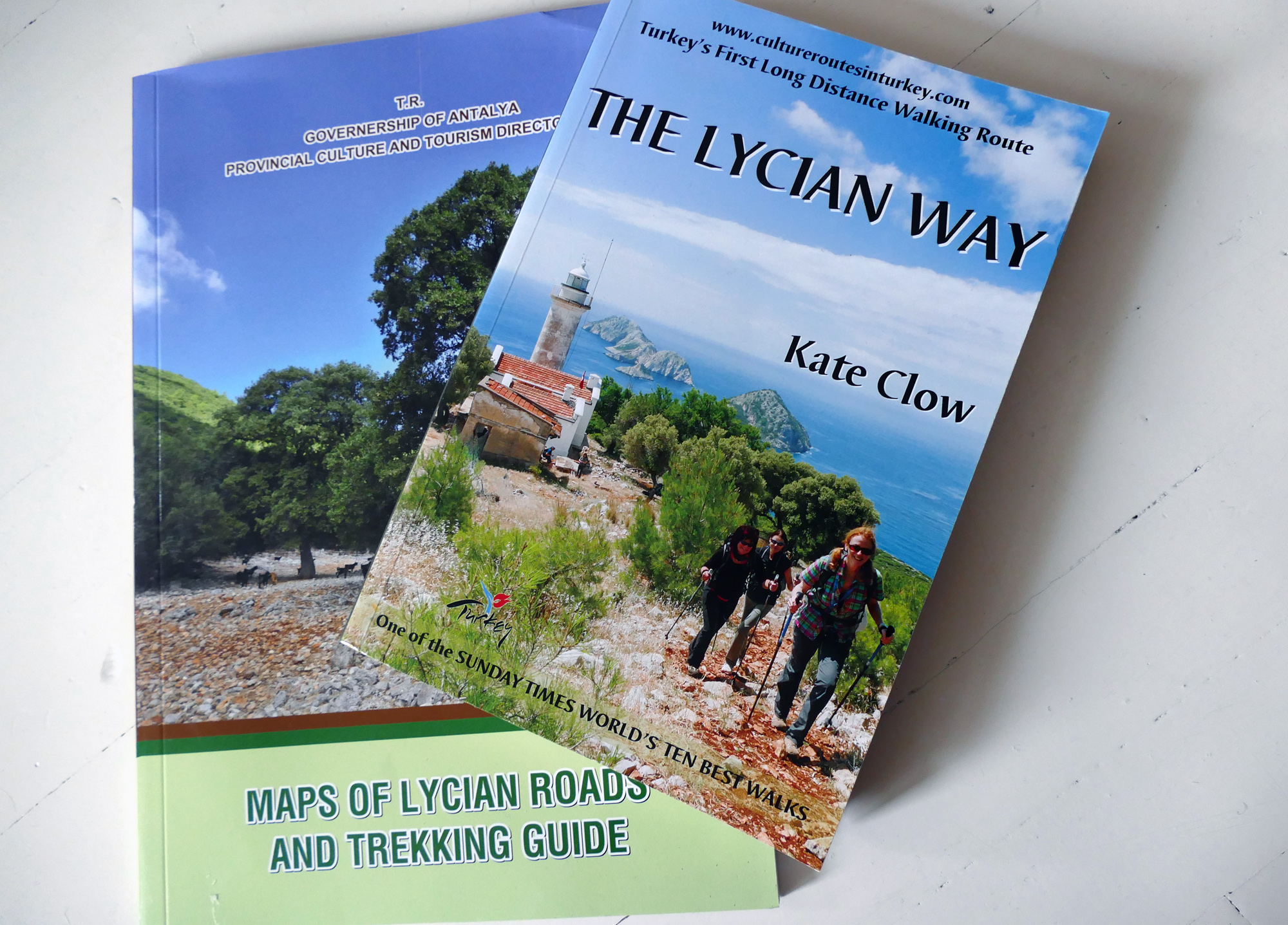the lycian way bok