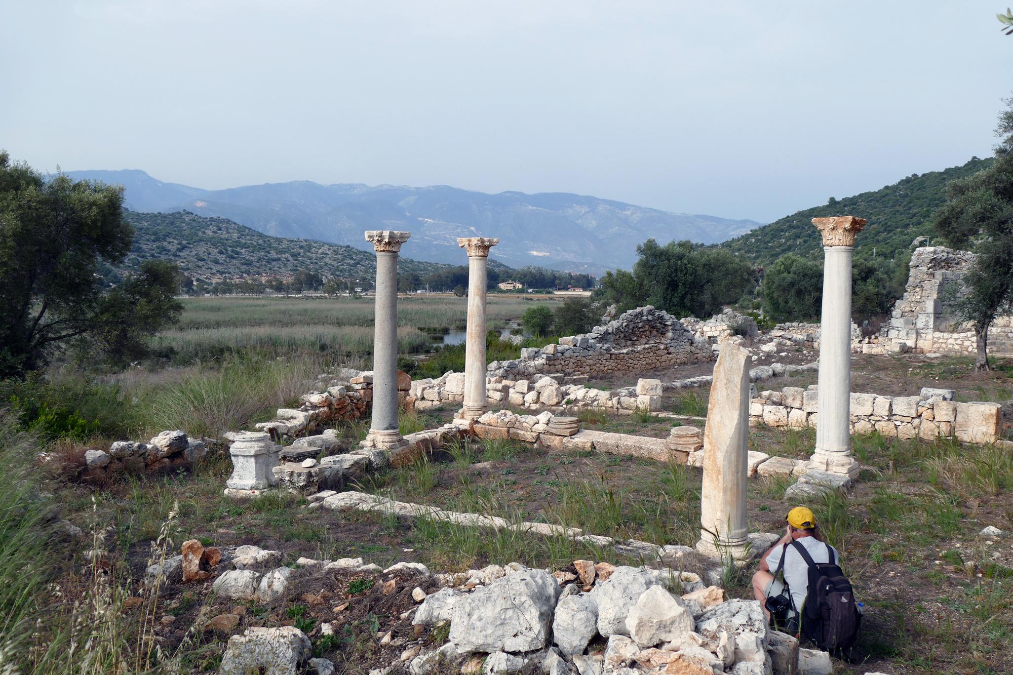 Platsen där aposteln Paulus bytte skepp inför sin resa till Rom