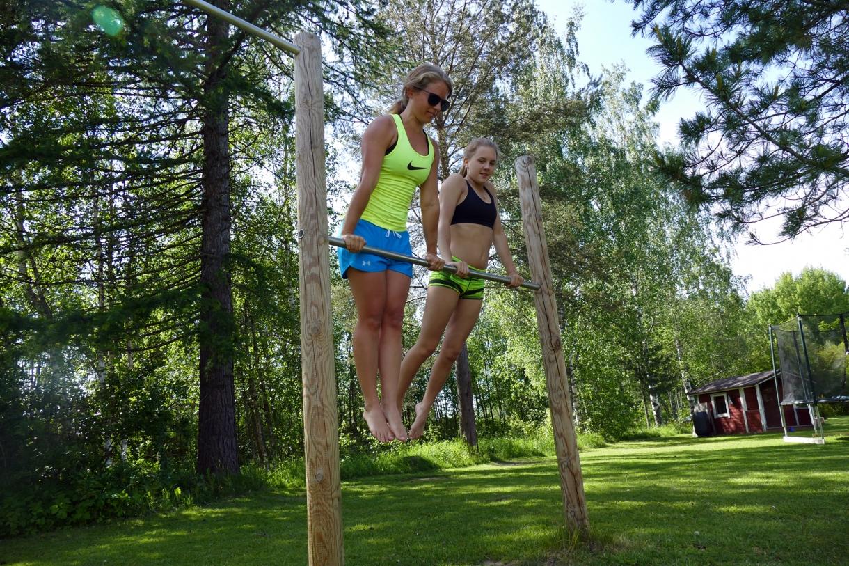 träning utomhus